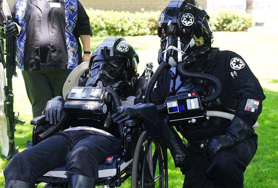 Teen in Wheelchair Becomes TIE Fighter Pilot