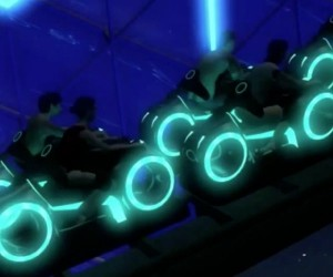 Disney's New TRON Roller Coaster Looks Amazing