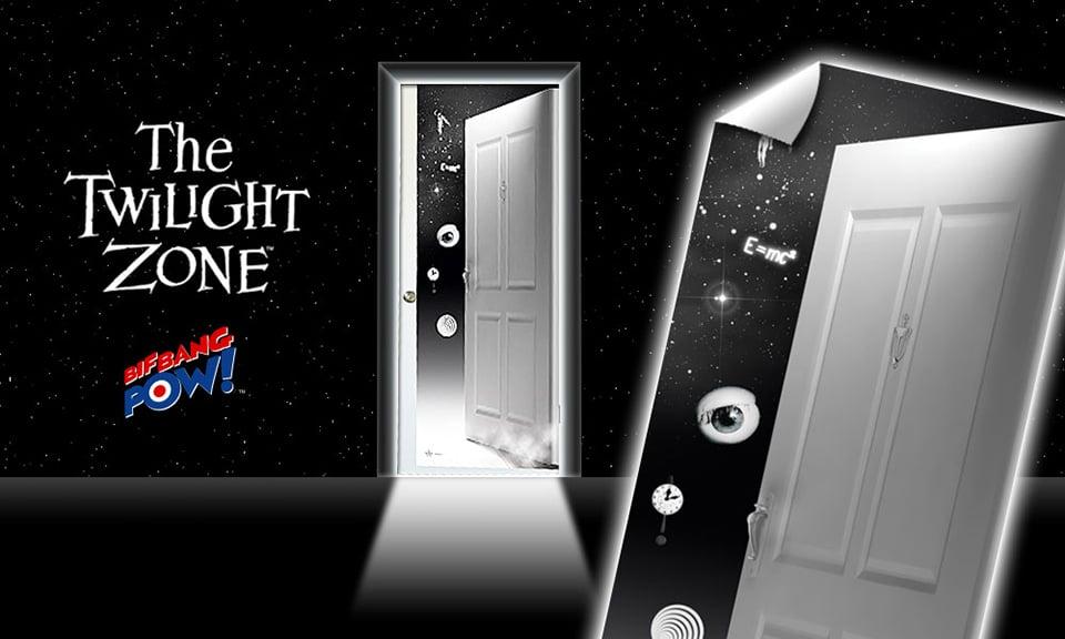 The Twilight Zone Door Decal