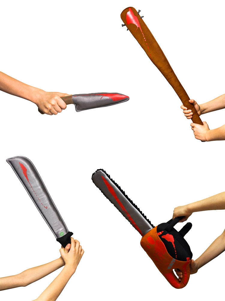 Zombie Killing Weapons Pack a Pillowy Punch