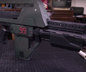 Build an M41-A Pulse Rifle from Aliens