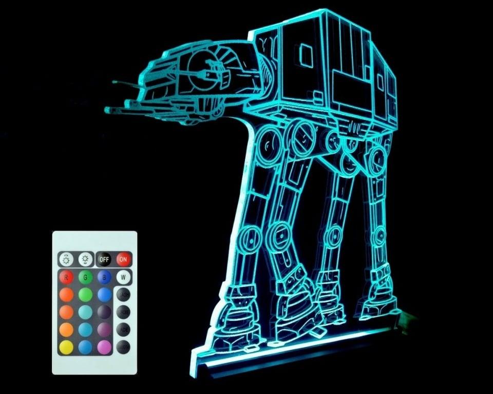 Star Wars At At Walker Led Lamp Mightymega