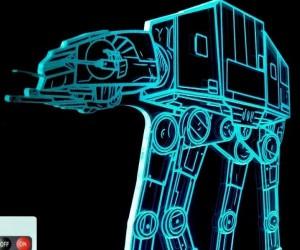 Star Wars AT-AT Walker LED Lamp
