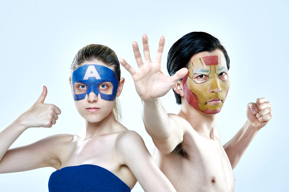 Superhero Facial Health Masks