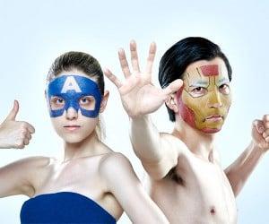 Superhero Facial Health Masks