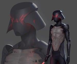 Fan's Darth Vader Concept Slims Down