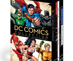 DC Graphic Novels & DVD/Blu-ray Combo Sets