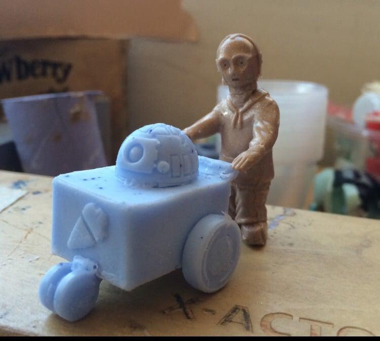 DCA Toys Resin Remix Figures