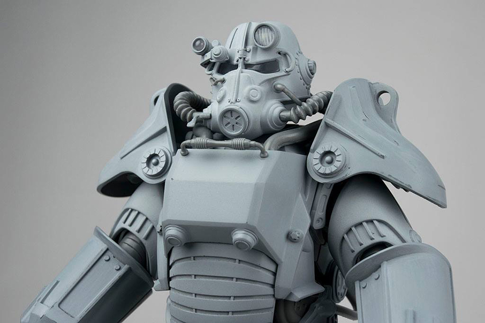 Threezero fallout power armor action figures mightymega How to make your own house in fallout 3