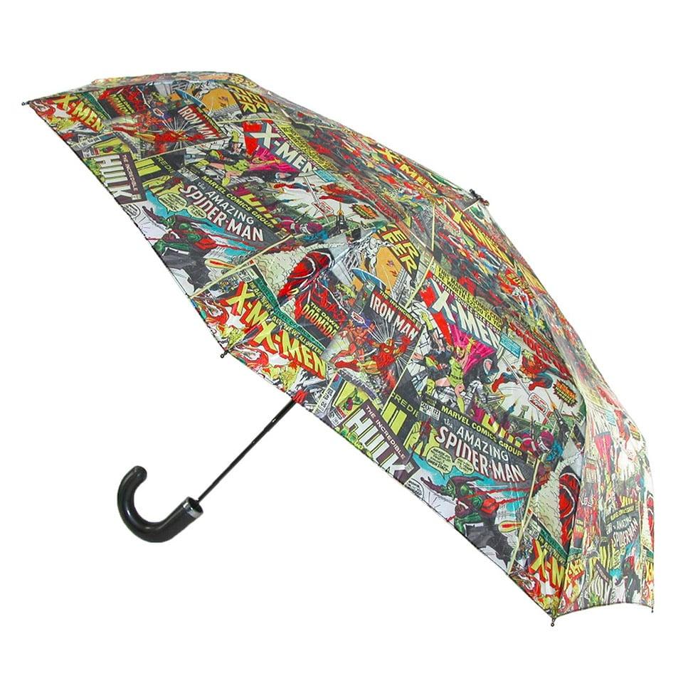 Marvel Umbrellas Keep Superheros Dry