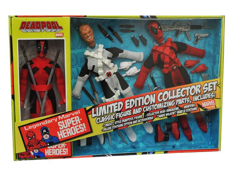 DST Marvel Retro Deadpool Action Figure