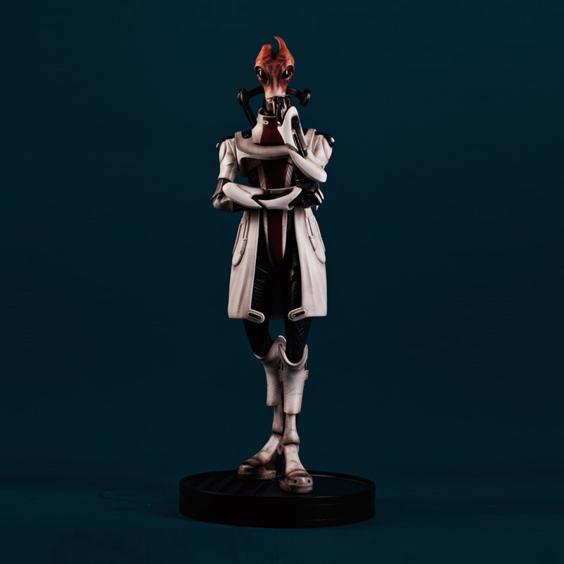 Mass Effect Mordin Solus Statue