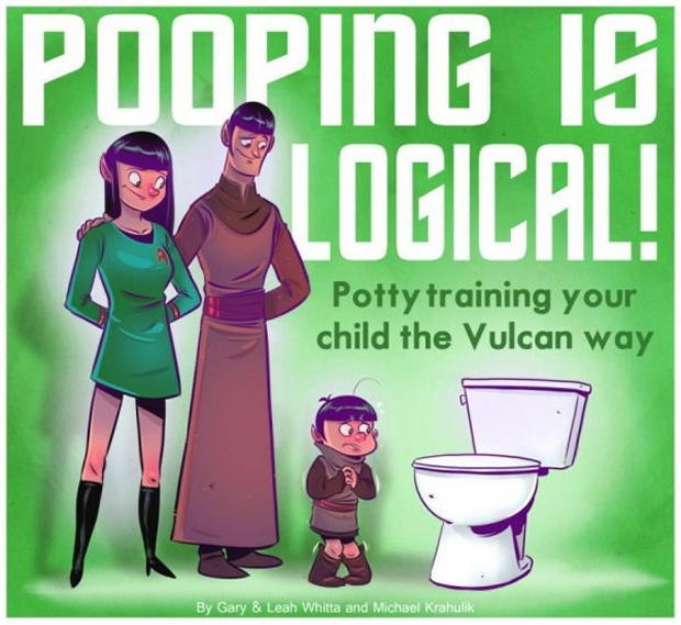 Pooping Is Logical: Potty Training the Vulcan Way