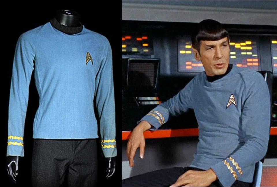 1960s Spock Uniform Could Go for Big Bucks