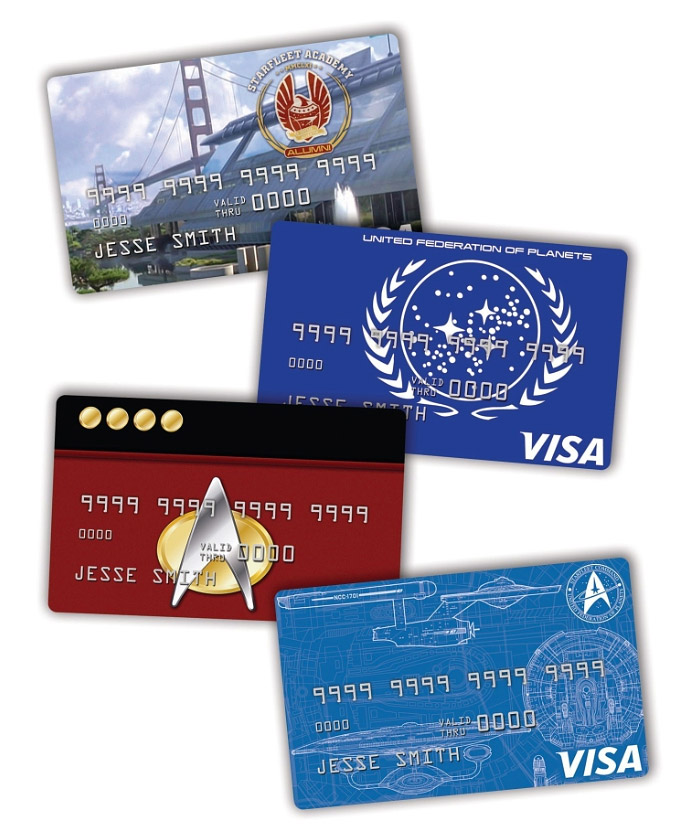 NASA Bank Star Trek Credit Cards: The Finance Frontier