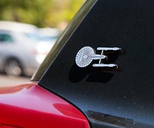 Star Trek Enterprise Injection Molded Emblem