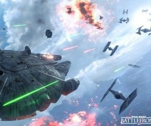 Star Wars: Battlefront Fighter Squadron Gameplay