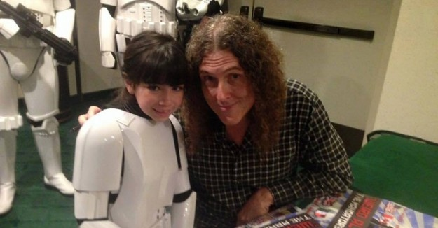 Bullied Star Wars Fan Gets Support from The 501st and Weird Al