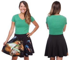 Star Wars Fighter Scene Skirt