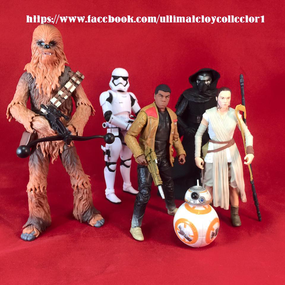 Star Wars: The Force Awakens Black Series Figures Leak