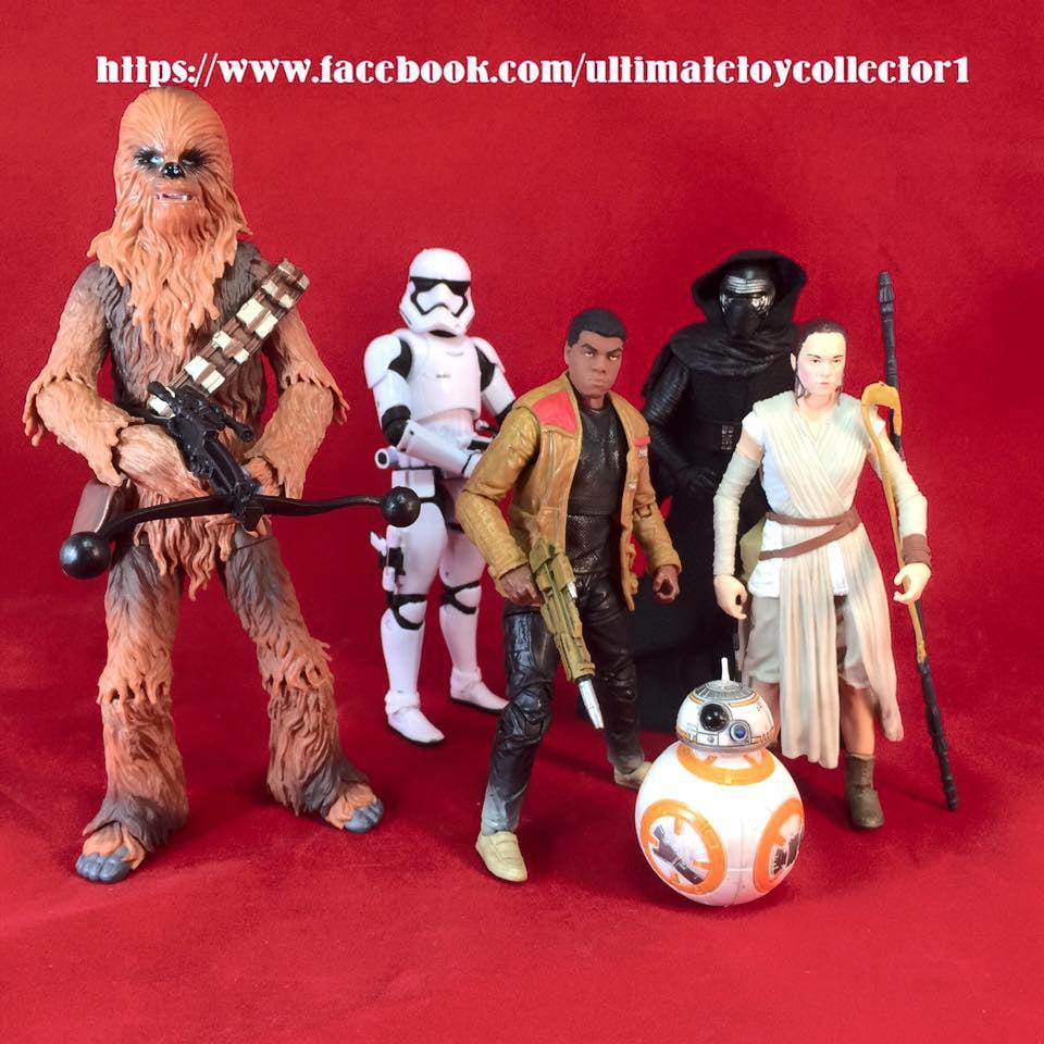 Star Wars: The Force Awakens Black Series Figures Leak