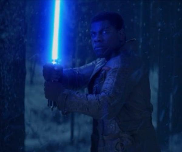 Star Wars VII Teaser Sees Finn Wield the Skywalker Lightsaber