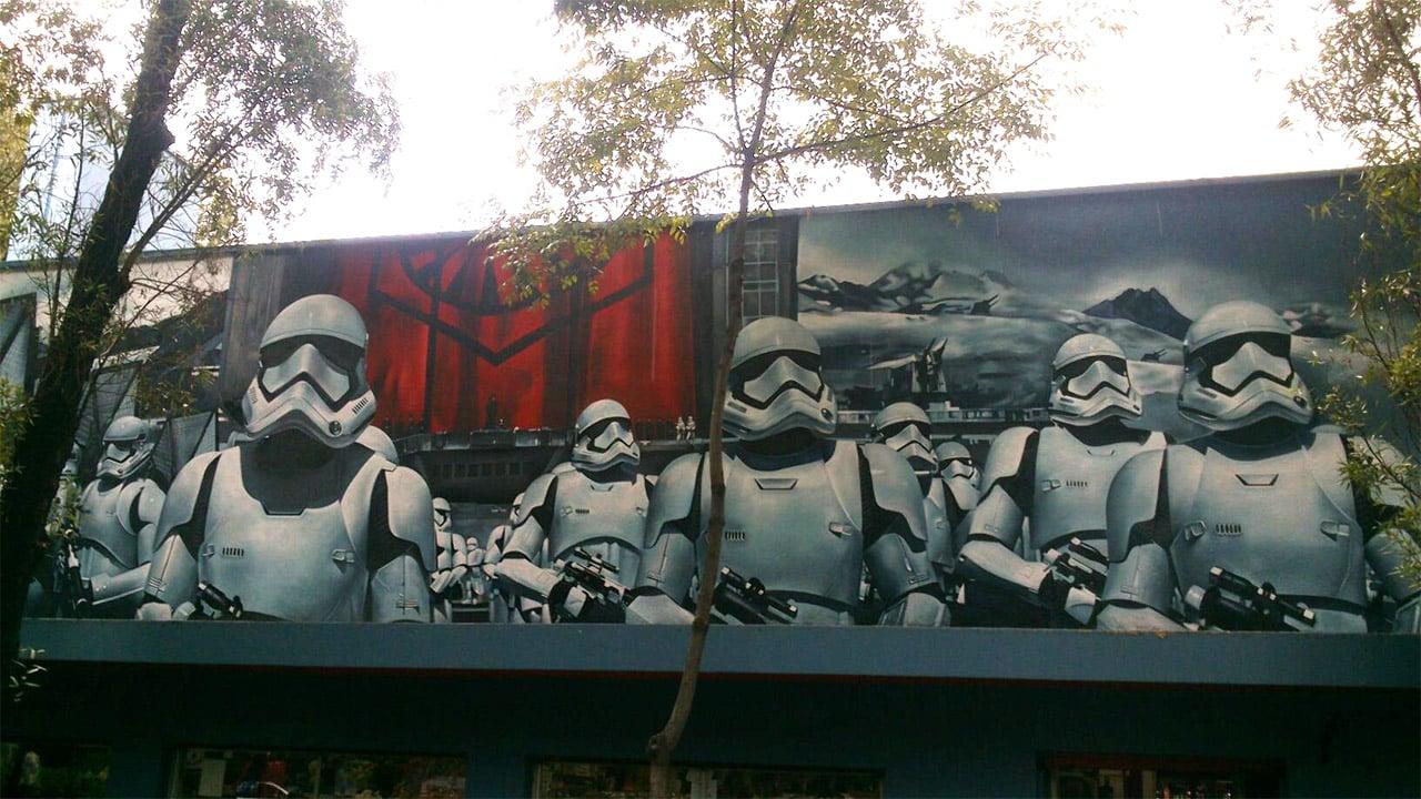 Star Wars First Order Stormtrooper Mural