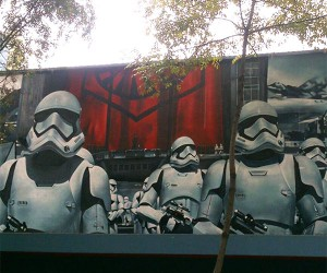 Star Wars First Order Stormtrooper Mural