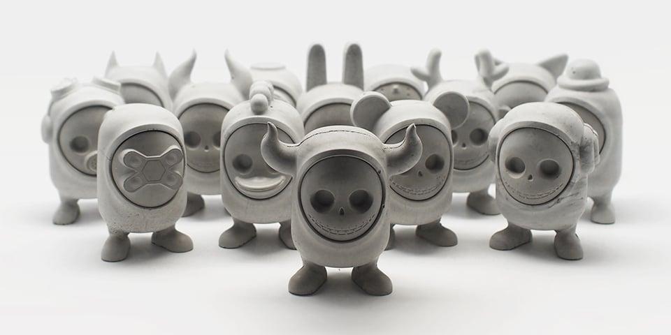 United Monsters Concrete Art Toys