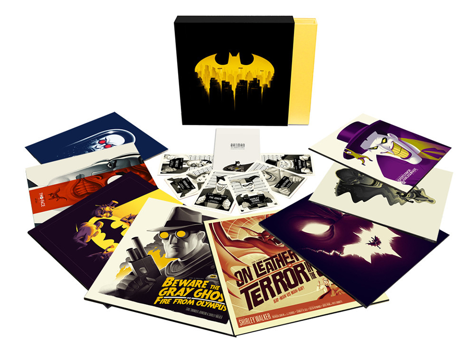 Mondo Batman: The Animated Series Vinyl Box Set