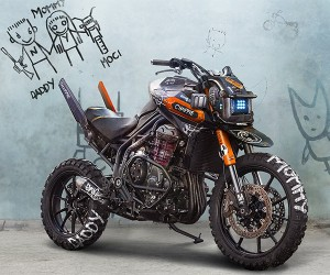 This CHAPPiE Inspired Motorcycle is Awesome