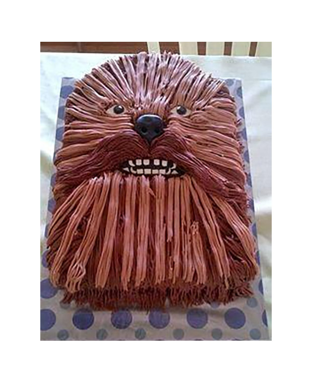 Chewbacca Cake Takes the Cake