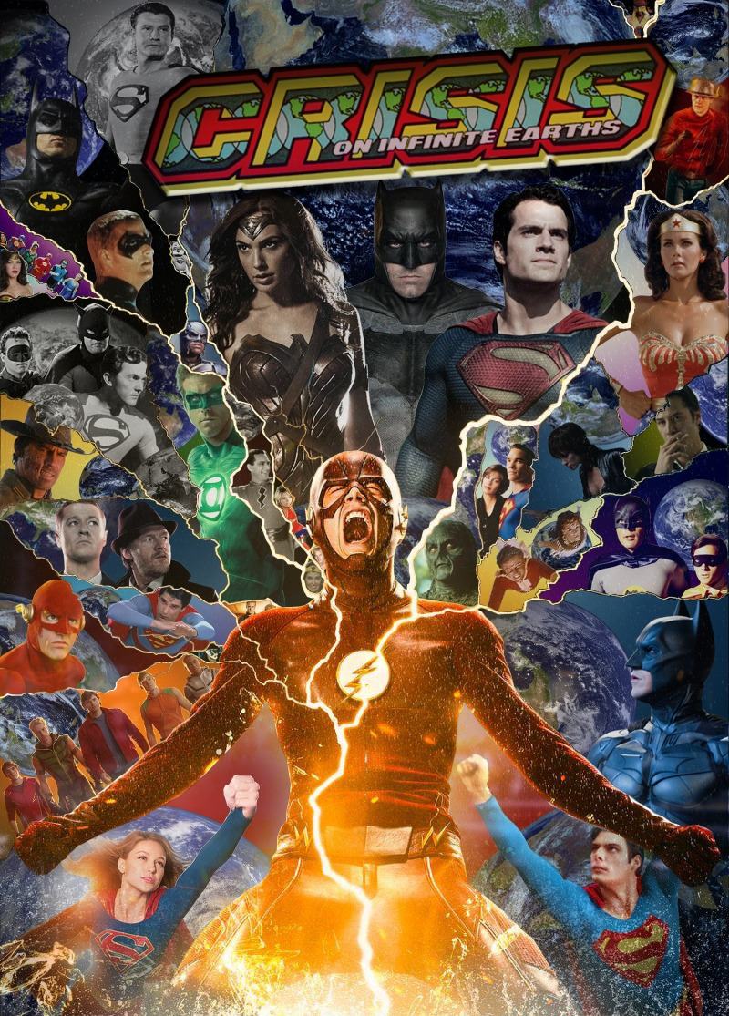 Awesome Crisis on Infinite Earths Poster