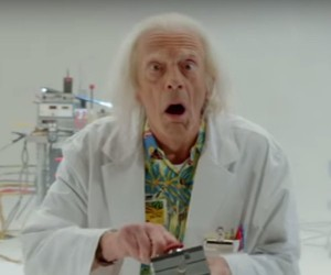 Doc Brown Returns in Back to the Future Short Film