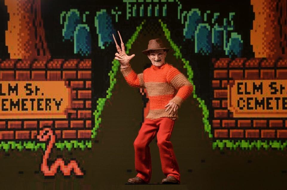 NECA Freddy Krueger Video Game Appearance Figure