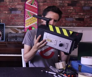 DIY Low Budget Ghostbusters Muon Trap