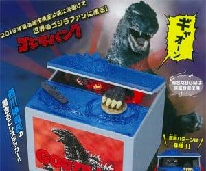 Godzilla Mechanical Coin Bank