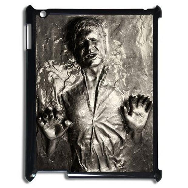 Han Solo Frozen in Carbonite iPad Case