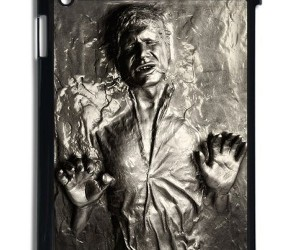 Han Solo Frozen in Carbonite iPad Case
