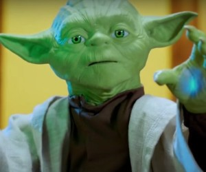 Legendary Yoda Interactive Robotic Toy Released