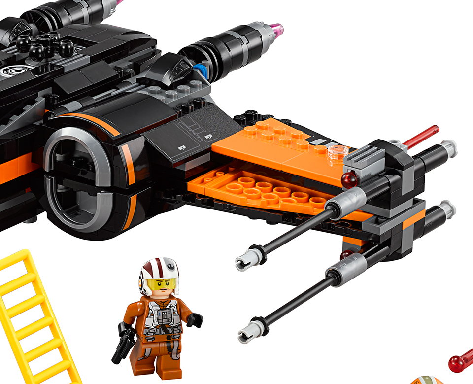 LEGO Star Wars: The Force Awakens Poe's X-Wing Fighter ...
