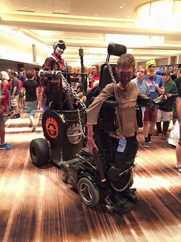Disabled Guy Pulls off Awesome Mad Max Cosplay