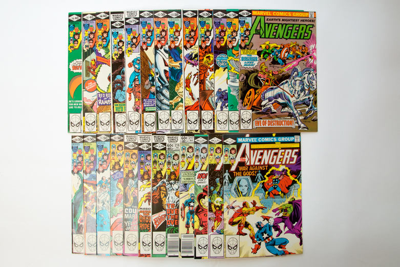 10,000+ Marvel Comic Book Auction