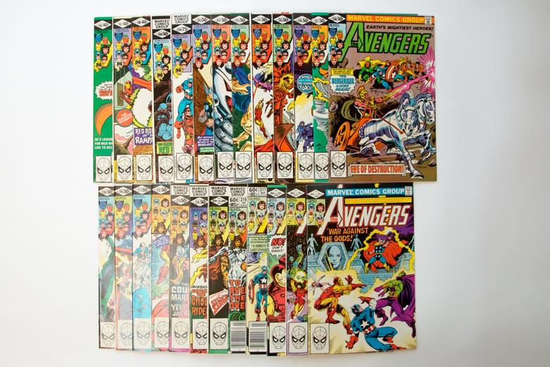 10,000+ Marvel Comic Book Auction