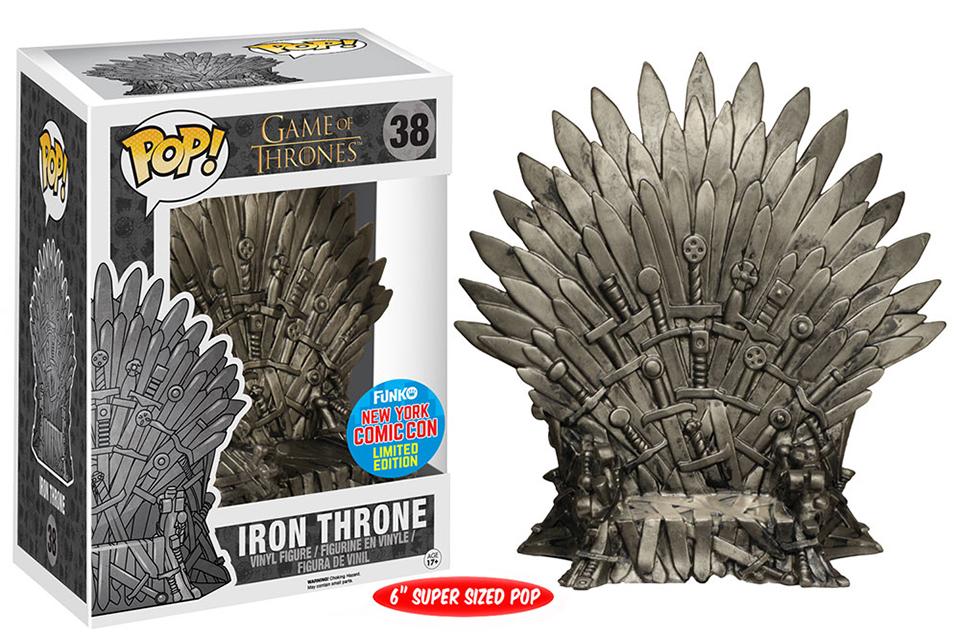 Funko Pop! Iron Throne NYCC Exclusive