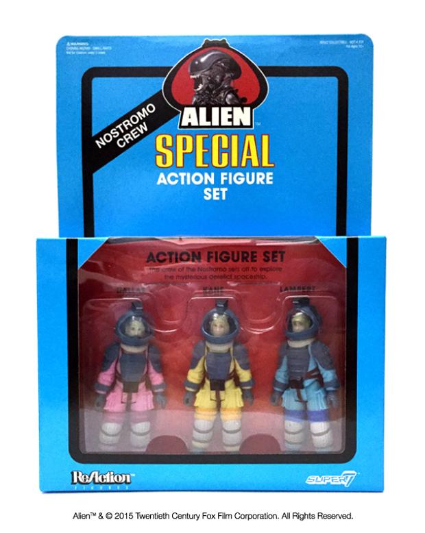 2015 NYCC ReAction Alien Special Action Figure Set