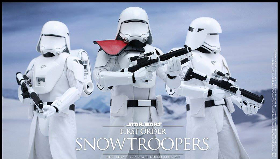 Hot Toys First Order Snowtrooper & Snowtrooper Officer