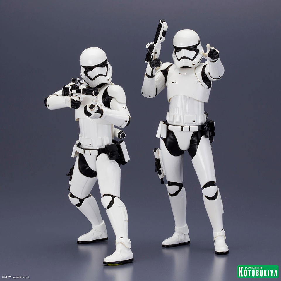 Kotobukiya First Order Stormtrooper ARTFX+ Two-pack
