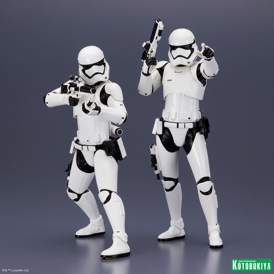 Kotobukiya First Order Stormtrooper ARTFX+ Two-pack