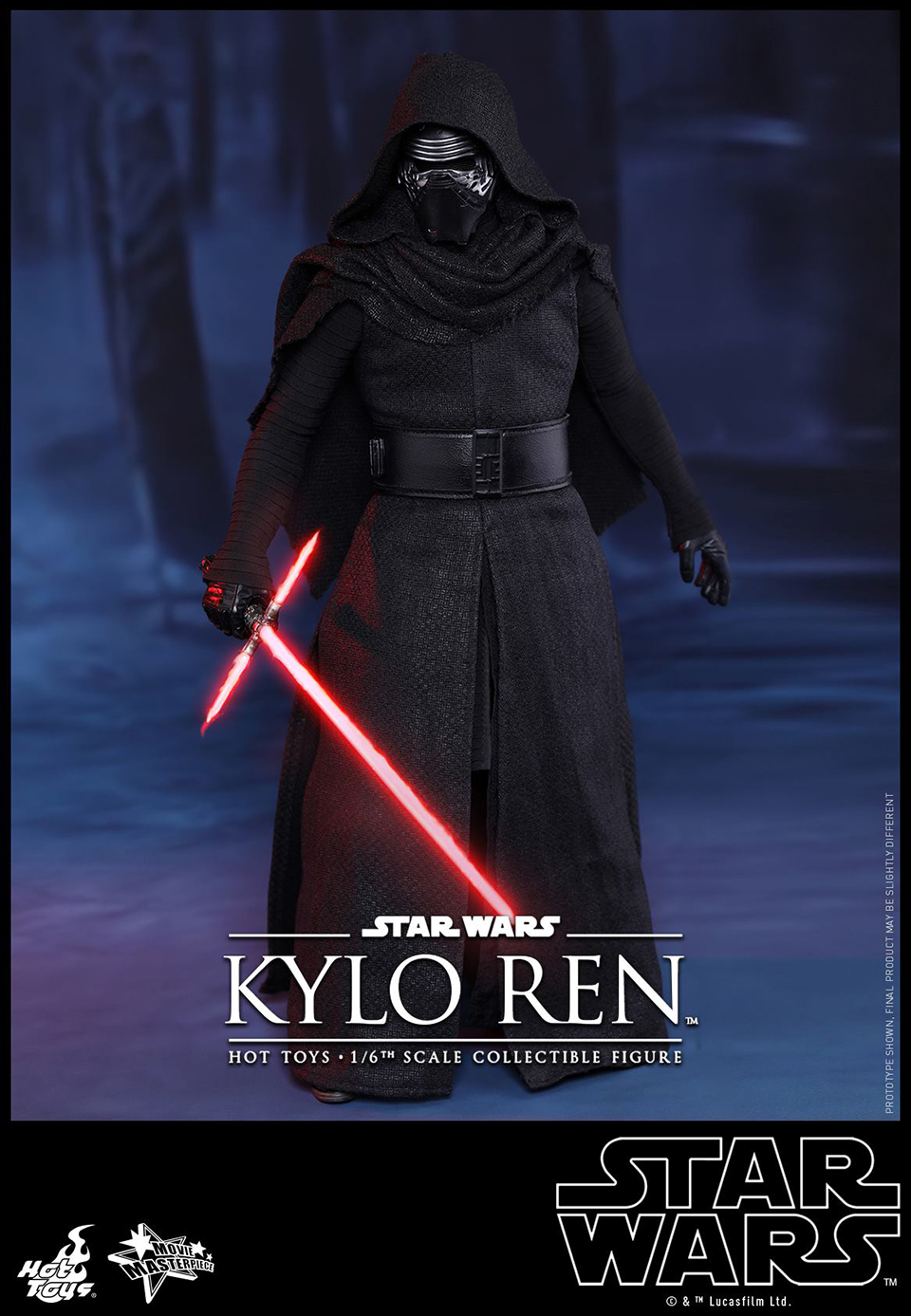 Hot Toys Kylo Ren 1:6 Scale Action Figure